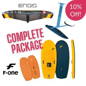 F one and Ensis wing foil package