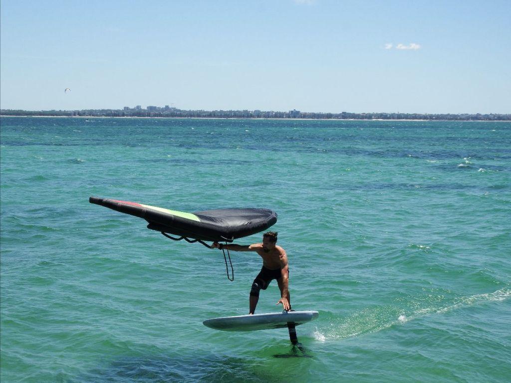 Konrad Wingman V3 on the water