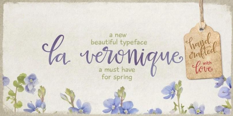 La Veronique Pro [1 Font]   The Fonts Master