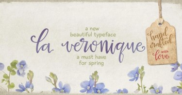 La Veronique Pro [1 Font] | The Fonts Master