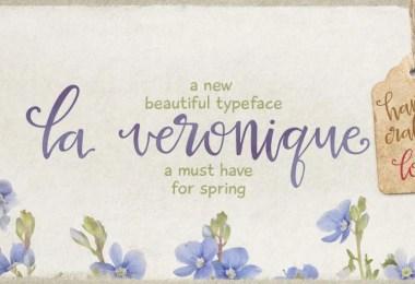 La Veronique Pro [1 Font] | The Fonts Master