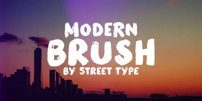 Modern Brush [1 Font] | The Fonts Master