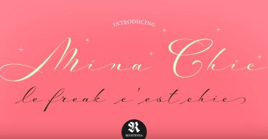 Mina Chic [2 Fonts] | The Fonts Master