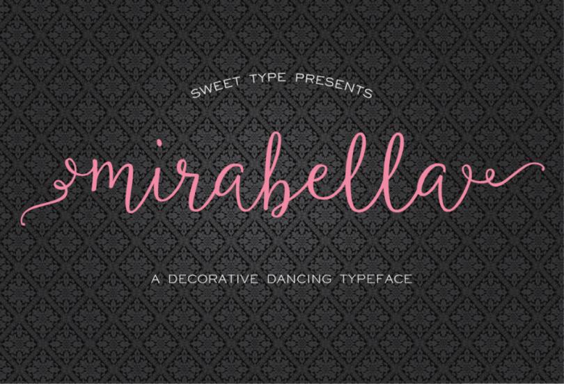 Mirabella Script [3 Fonts] | The Fonts Master