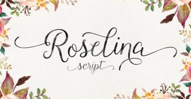 Roselina Script [1 Font] | The Fonts Master