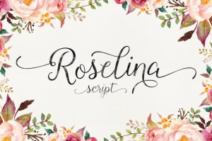 Roselina Script