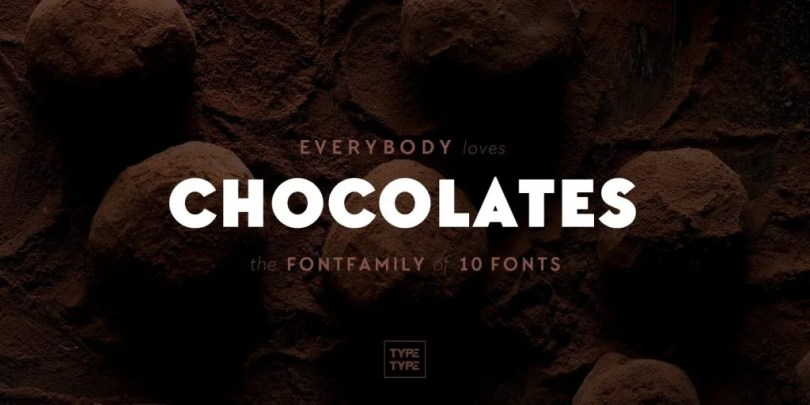 Tt Chocolates [10 Fonts] | The Fonts Master