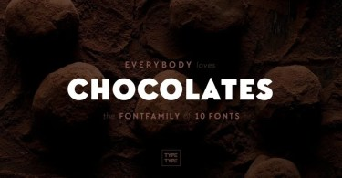 Tt Chocolates [10 Fonts]   The Fonts Master