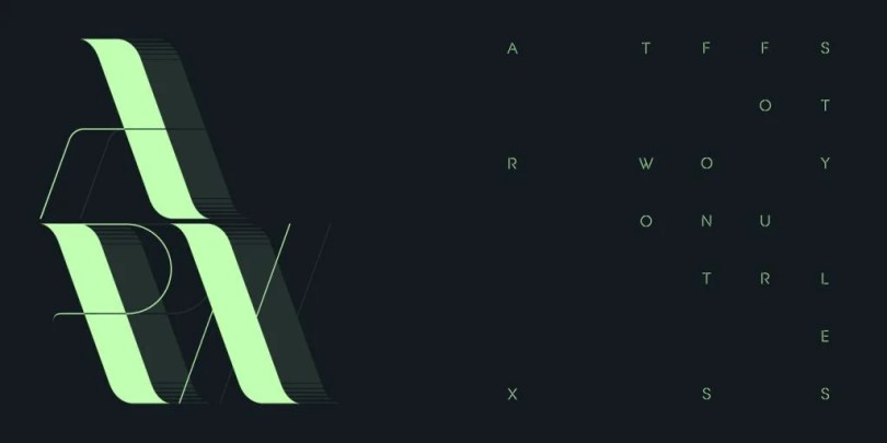 Arx [2 Fonts]   The Fonts Master