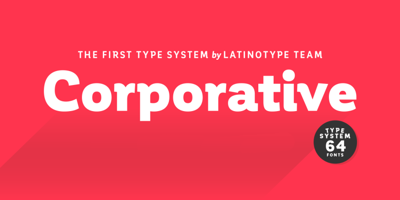Corporative Super Family [64 Fonts]   The Fonts Master