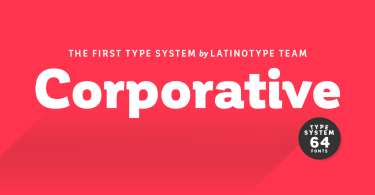 Corporative Super Family [64 Fonts] | The Fonts Master