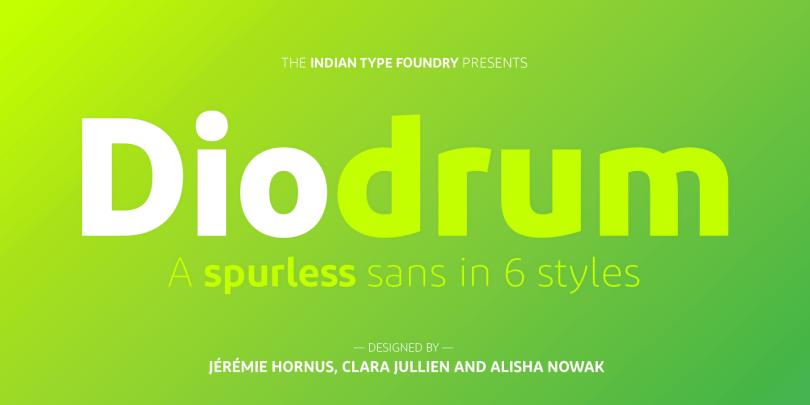 Diodrum [6 Fonts] | The Fonts Master
