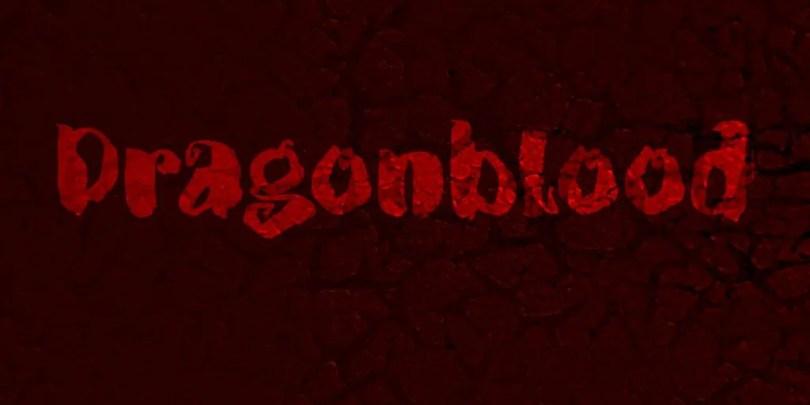 Dragonblood [1 Font] | The Fonts Master