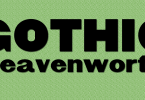 Gothic Leavenworth [1 Font] | The Fonts Master