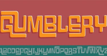 Gumblery [1 Font] | The Fonts Master