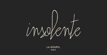 Insolente [2 Fonts]   The Fonts Master