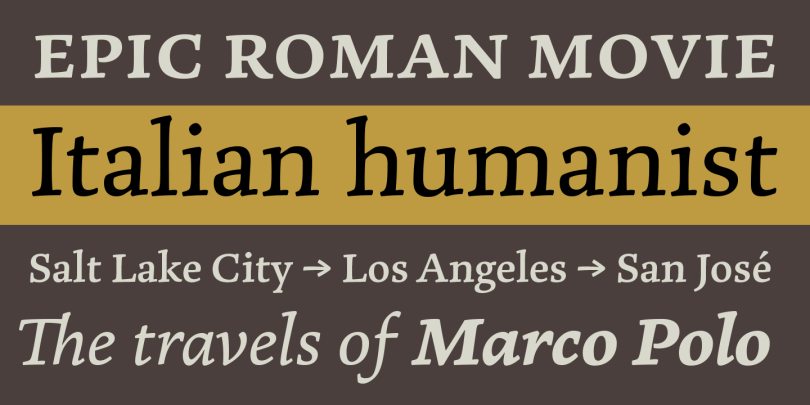 Marco [12 Fonts]   The Fonts Master