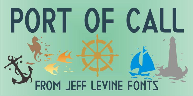 Port Of Call Jnl [1 Font] | The Fonts Master