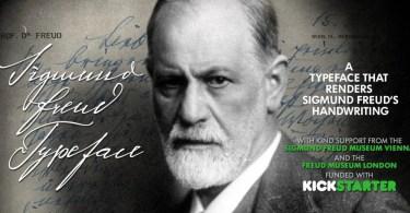 Sigmund Freud Typeface [6 Fonts]