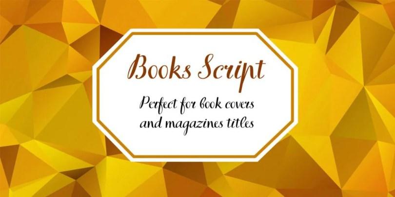 Tt Books Script [1 Font] | The Fonts Master