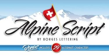 Alpine Script [1 Font] | The Fonts Master