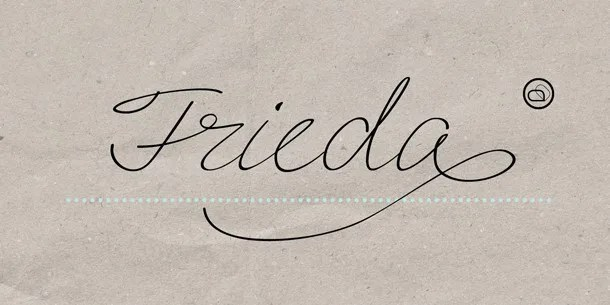 Frieda [1 Font] | The Fonts Master