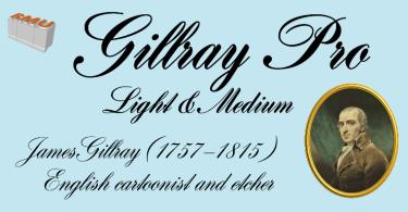Gillray Pro [2 Fonts] | The Fonts Master