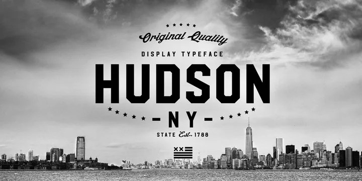 Hudson Ny [6 Fonts] | The Fonts Master