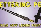 Lettering Pen Jnl [1 Font] | The Fonts Master