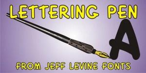Lettering Pen Jnl