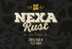 Nexa Rust Super Family [83 Fonts]