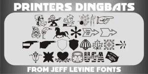 Printers Dingbats Jnl