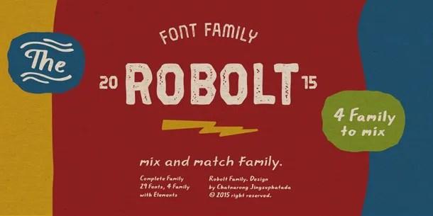 Robolt Super Family [30 Fonts] | The Fonts Master
