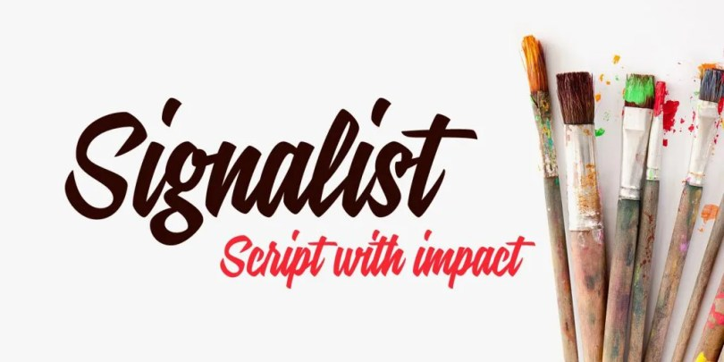 Signalist [1 Font] | The Fonts Master