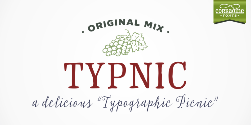 Typnic [18 Fonts] | The Fonts Master