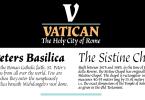 Vatican [3 Fonts] | The Fonts Master