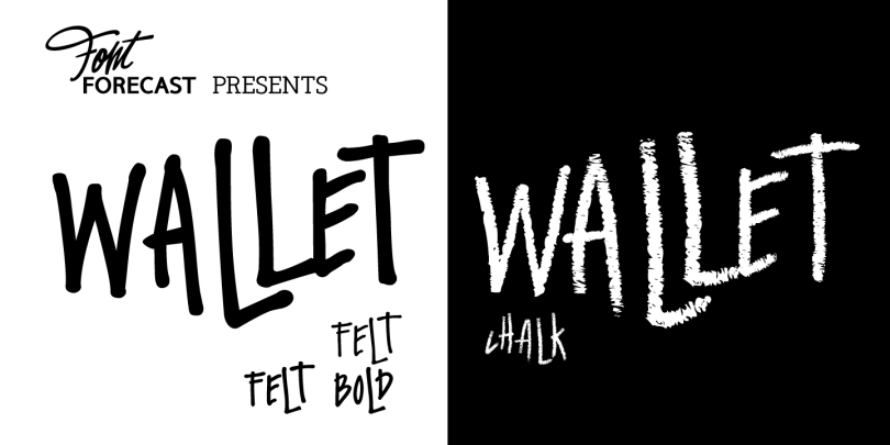 Wallet [3 Fonts] | The Fonts Master