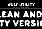 Wulf Utility [2 Fonts] | The Fonts Master