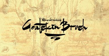 Goatskin Brush [1 Font] | The Fonts Master