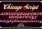 Lhf Chicago Script [1 Font] | The Fonts Master