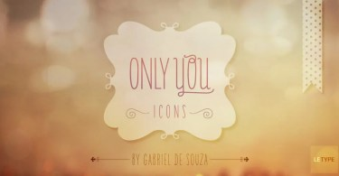 Only You Icons [6 Fonts] | The Fonts Master