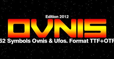 Ovnis [1 Font] | The Fonts Master
