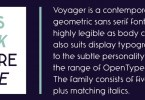 Voyager [10 Fonts] | The Fonts Master