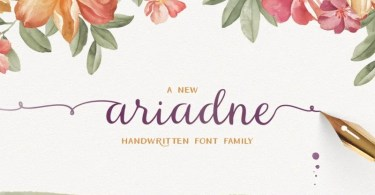 Ariadne Family [3 Fonts] - The Fonts Master