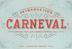 Carneval &Amp; Extra [4 Fonts] | The Fonts Master