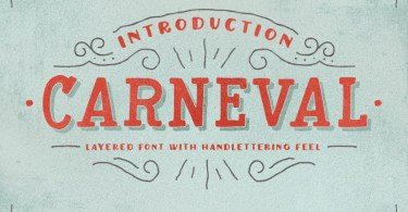 Carneval & Extra [4 Fonts]
