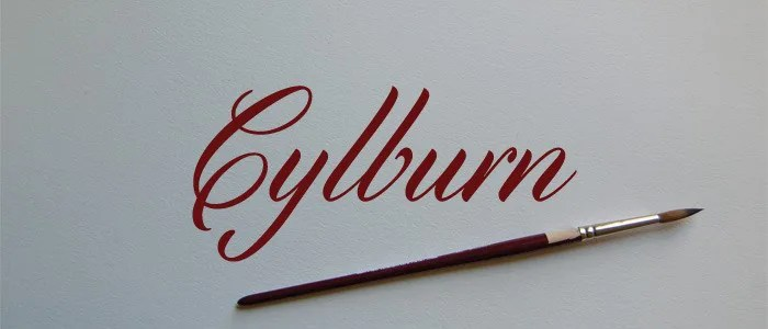 Cylburn [1 Font]   The Fonts Master