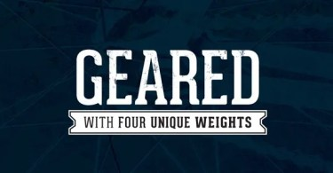 Geared [4 Fonts]