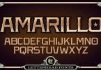 Lhf Amarillo [2 Fonts] | The Fonts Master