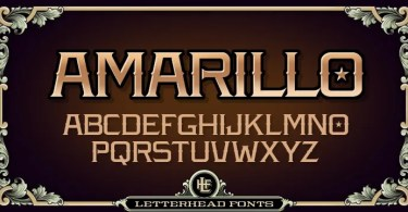 Lhf Amarillo [2 Fonts] | The Fonts Master